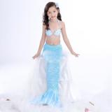 Toddle Kids Girls Shell Bikinis Sets Mermaid Swimwear