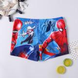 Kid Boys Print Spider Man Swimwear Trunks Swim Boxer Shorts