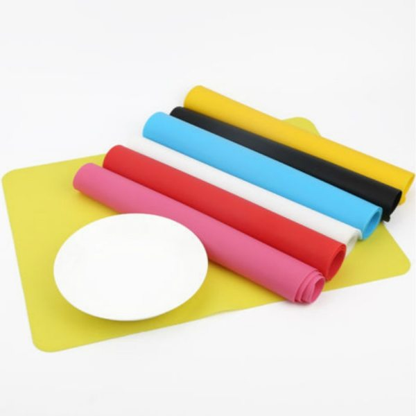 40*30CM Silicone Baking Mat Non Stick Pan Liner Placemat Table Protector Kitchen Pastry Liner Baking Bakeware Mat