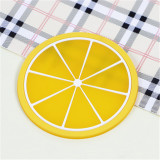 Waterproof Heat-insulated Fruit Silicone Coaster Cup Bowl Placemat