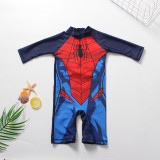 Toddler Kid Boys Print Spider Man Swimwear