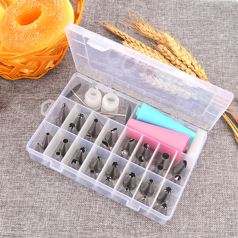 Pastry Cake Cream Nozzles Decorating Bakeware Tools Set