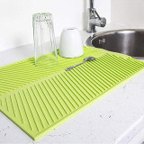 Silicone Table Placemat Premium Heat Resistant Drying MatDish Cup Pad Dinnerware Mat Tableware Dishwasher Kitchen Accessories