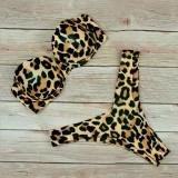 Women Swimsuit Leopard Print Steel Toby Tobe Top Bikinis Sets Swimwear