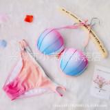 Women Shelll Strap Cut Out Bikinis Sets Swimsuit