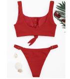 Women Swimsuit Tie Up Bikinis Sets Swimwear