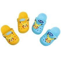 Toddlers Kids Pikachu Flat Beach Home Summer Slippers Shoes