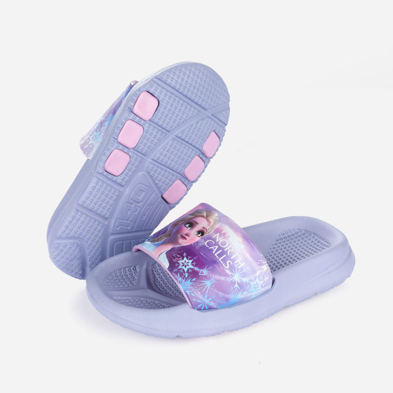 Toddlers Kids Frozen Beach Home Summer Slippers