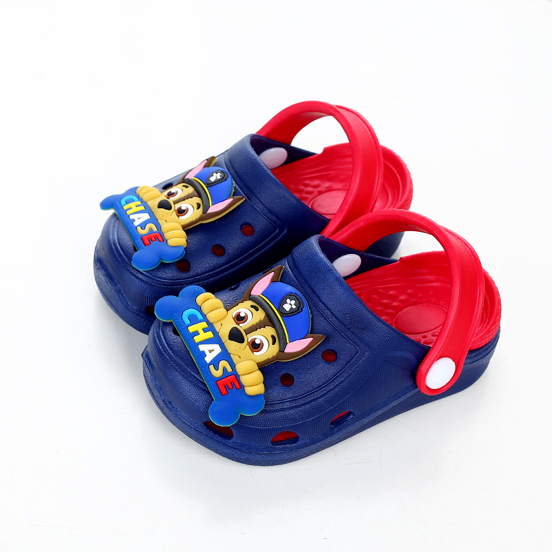 Toddlers Kids PAW Patrol Flat Beach Home Summer Slippers Shoes