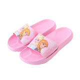 Parent Child Frozen Beach Home Summer Slippers