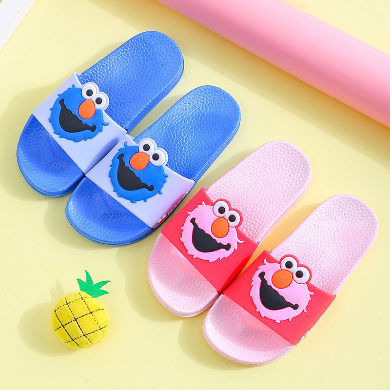 Toddlers Kids Sesame Street Beach Home Summer Slippers