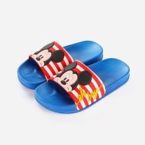Toddlers Kids Mickey Mouse Flat Beach Home Summer Slippers