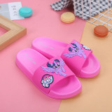 Parent Child My Little Pony Home Summer Slippers