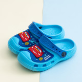 Toddlers Kids Red Cars Beach Home Summer Slippers Shoes