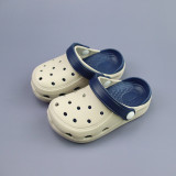 Toddlers Kids Pure Color Hole Beach Home Summer Slippers Shoes
