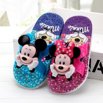 Toddlers Kids 3D Mickey Mouse Beach Home Summer Slippers