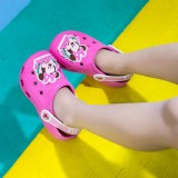 Toddlers Kids Mickey Mouse Minnie Flat Beach Home Summer Slippers Shoes