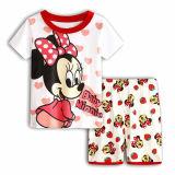 Toddler Kids Girl Minnie Mouse Summer Short Pajamas Sleepwear Set Cotton Pjs