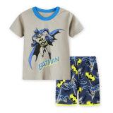 Toddler Kids Boy Bat Man Summer Short Pajamas Sleepwear Set Cotton Pjs