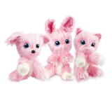Who Will You Rescue Wash Plush Pet Dog Cat Rabbit Animal Toys Kids Surprised Gift