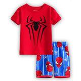 Toddler Kids Boy Spider Man Summer Short Pajamas Sleepwear Set Cotton Pjs