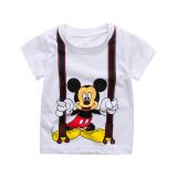 Toddler Kids Boy Mickey Mouse Summer Short Pajamas Sleepwear Set Cotton Pjs