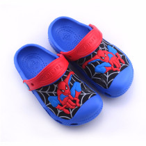 Toddle Kids 3D Spider Man Beach Summer Slippers Shoes