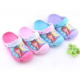 Toddle Kids 3D Frozen Elsa Princess Home Beach Summer Slippers Shoes