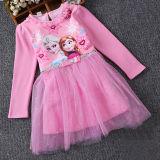 Toddler Girls Frozen Elsa Long Sleeves Sequins Princess Tutu Dress