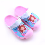 Toddle Kids 3D Sophia Princess Home Beach Summer Slippers Shoes