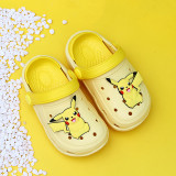 Toddlers Kids Pikachu Summer Beach Home Slippers Shoes
