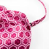 Family Matching Swimwear Red Geometric Polka Dots Swimsuit