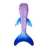 Kid Girls Rainbow Ombre Mermaid Tail Wing