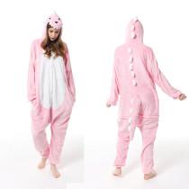Unisex Adult Pajamas Dinosaur Animal Cosplay Costume Pajamas