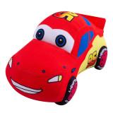 Red Racing Car Soft Stuffed Plush Animal Doll for Kids Gift