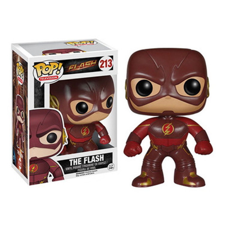 Marvel Red The Flash Barry Allen Man Limited Edition Dolls Figure Model Toys For Gift