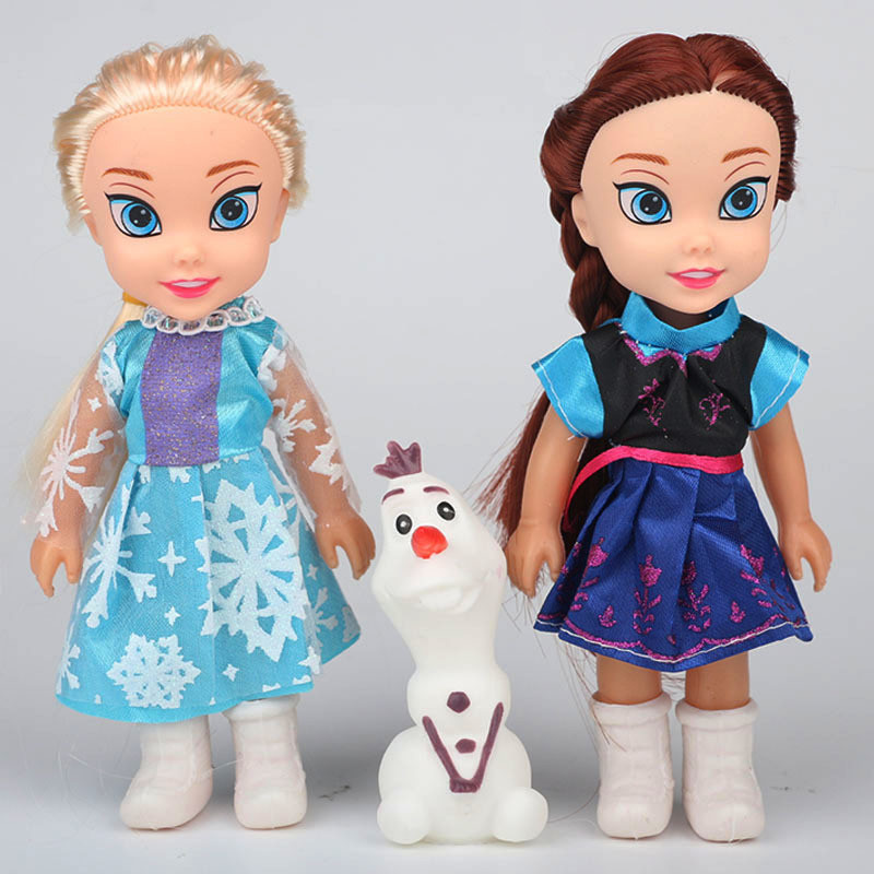 Frozen Doll Set for Kids Gift
