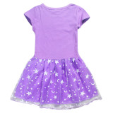 Toddler Girls Rainbow Peppa Pig A-Line Lace Dresses