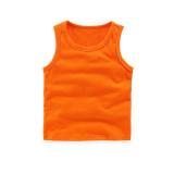 Toddler Boy Pure Color Cotton Summer Vest