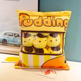 Cute Bag of Yellow Chicks Plush Soft Toy Throw Pillow Pudding Pillow Creative Gifts