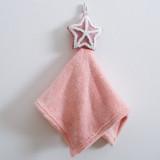 Cute Star Bibulous Square Hanging Towel For Bathroom