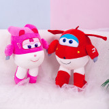 Super Wings Flying Airplane Soft Stuffed Plush Animal Doll for Kids Gift