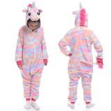 Kids Colorful Union Onesie Kigurumi Pajamas Animal Cosplay Costumes for Unisex Children