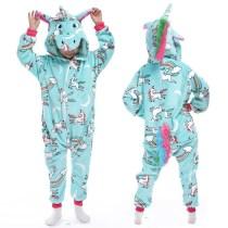 Kids Blue Union Onesie Kigurumi Pajamas Animal Cosplay Costumes for Unisex Children