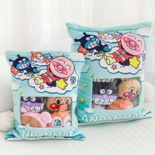 Cute Bag of Clowns Plush Soft Toy Throw Pillow Pudding Pillow Creative Gifts