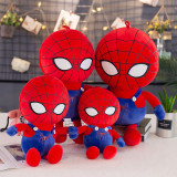 Red Spider Man Soft Stuffed Plush Animal Doll for Kids Gift