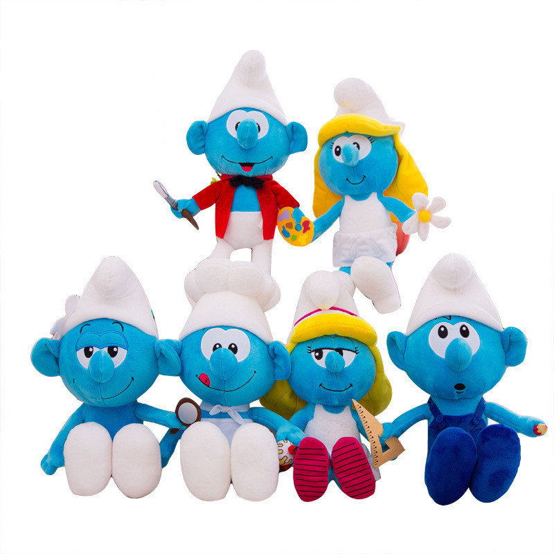 The Smurfs Soft Stuffed Plush Animal Doll for Kids Gift