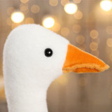 Big White Goose Pillow Cushion Stuffed Dolls for Kids Gift