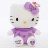 Cute Hellokitty Fruits Strawberry Orange Apple Soft Stuffed Plush Animal Doll for Kids Gift