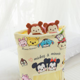 Cute Bag of Mickey Minnie Plush Soft Toy Throw Pillow Pudding Pillow Creative Gifts
